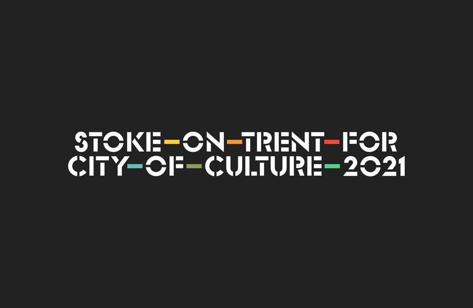 Stoke-on-Trent for City of Culture 2021 logo